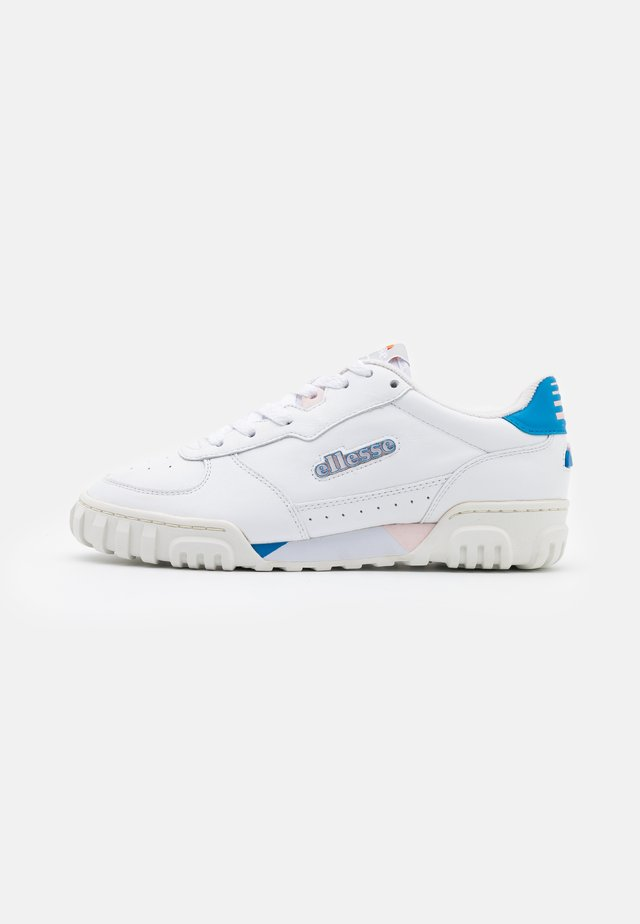TANKER - Trainers - white/blue/pink