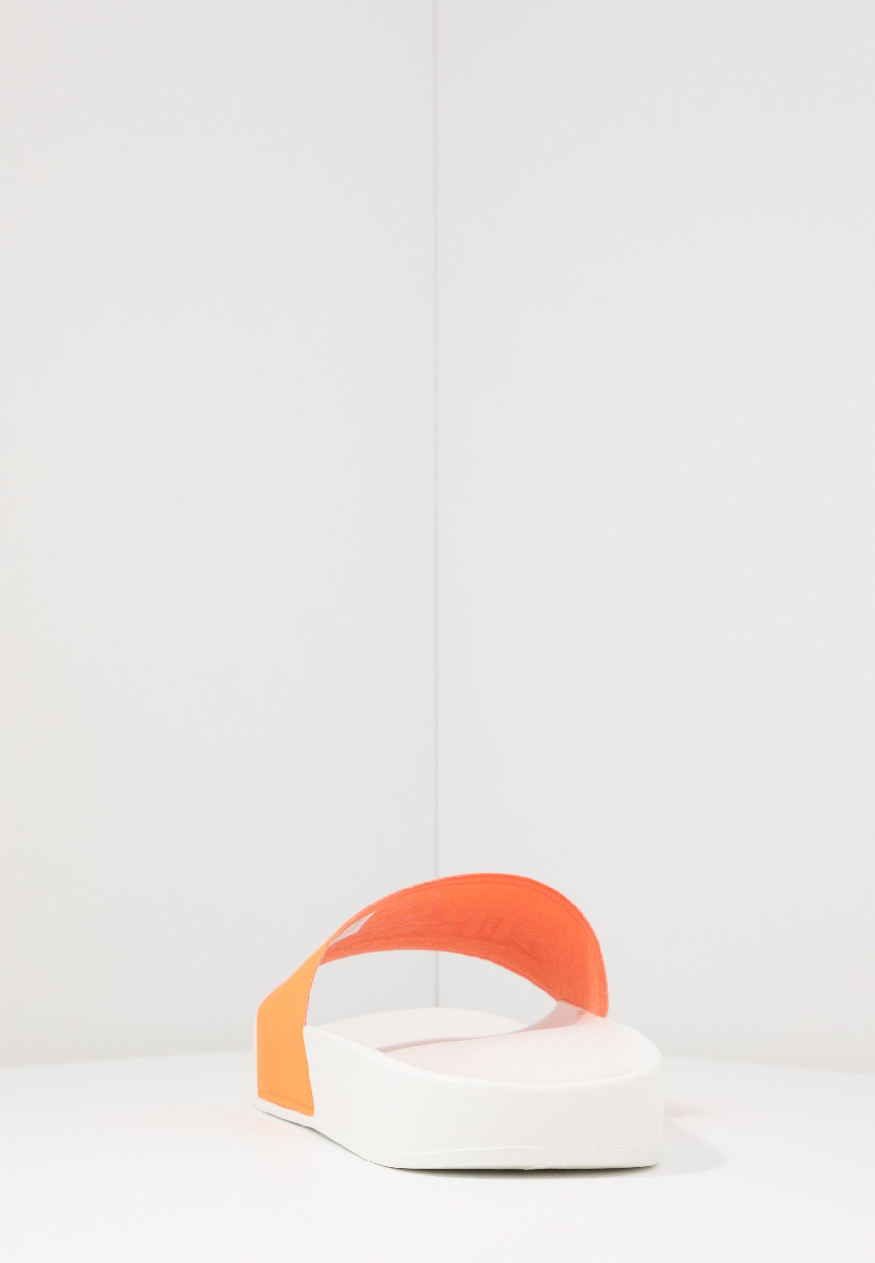 Ellesse FILIPPO - Sandaler - white/orange