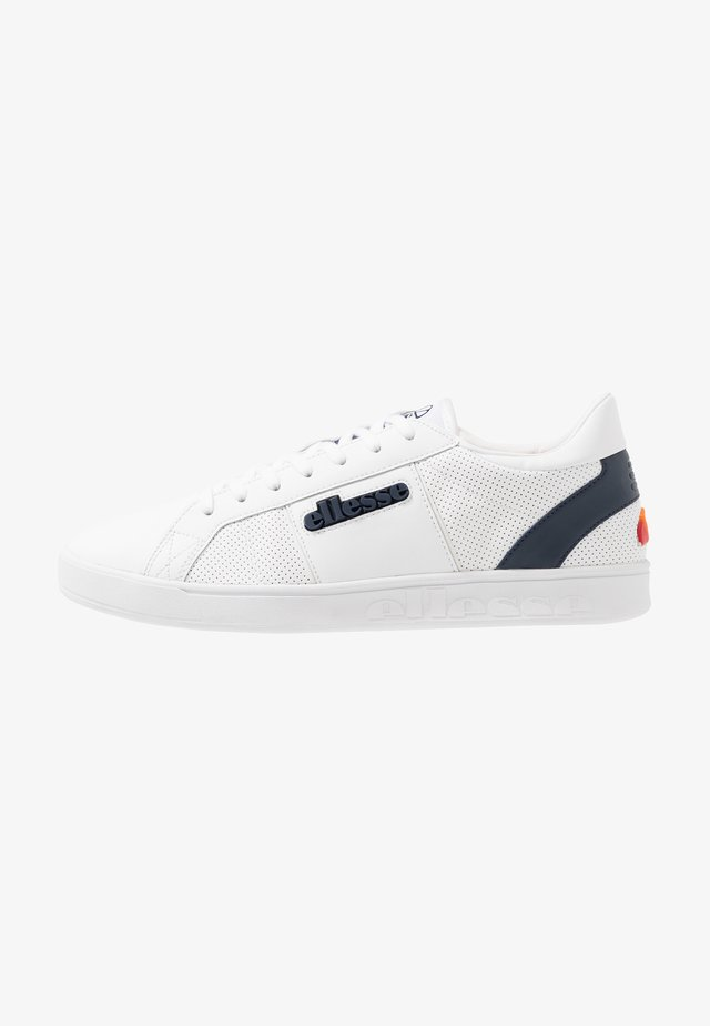 LS-80 - Sneakersy niskie - white/dark blue