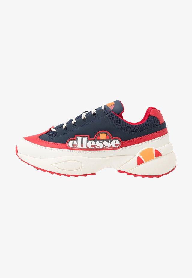 SPARTA - Sneakersy niskie - dark blue/red