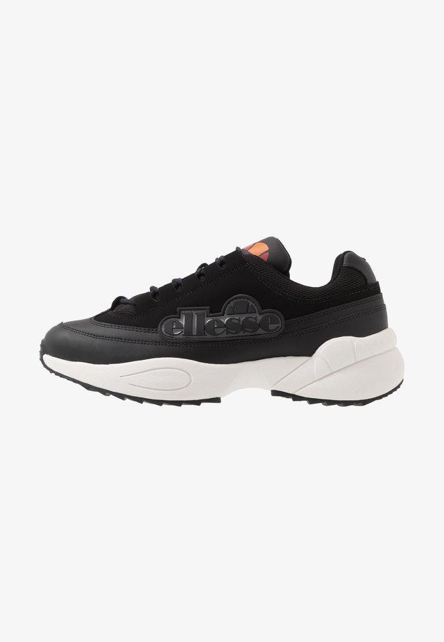 SPARTA - Sneakersy niskie - black/dark grey