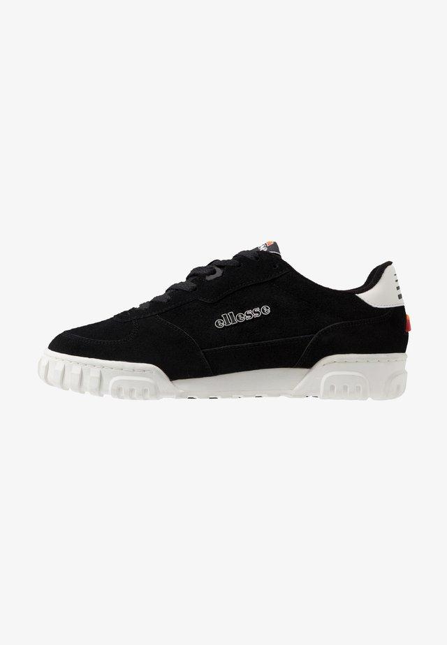 TANKER - Sneakersy niskie - black/white