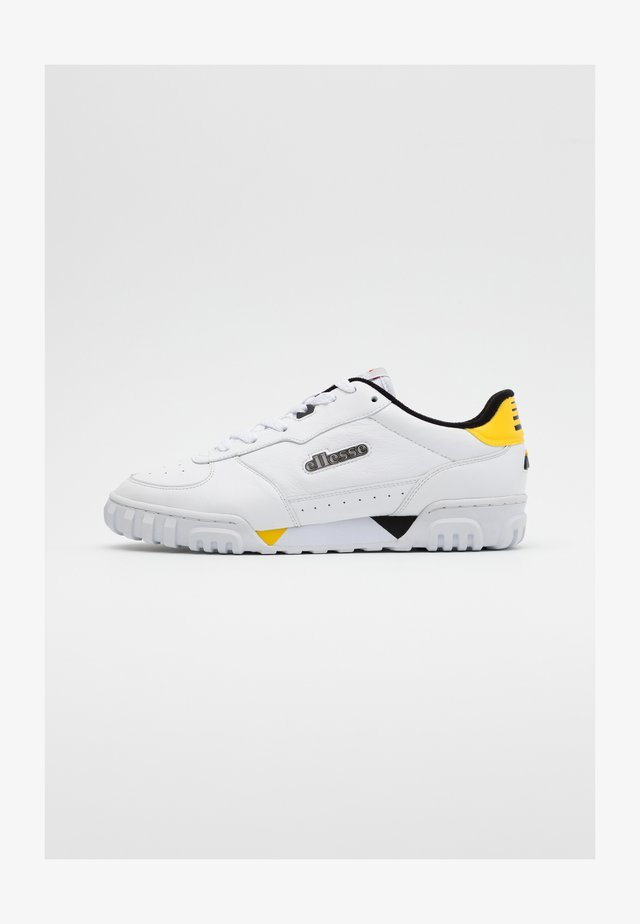 TANKER - Trainers - white/black/yellow/grey