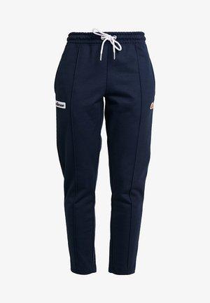 ADALINA - Teplákové kalhoty - navy
