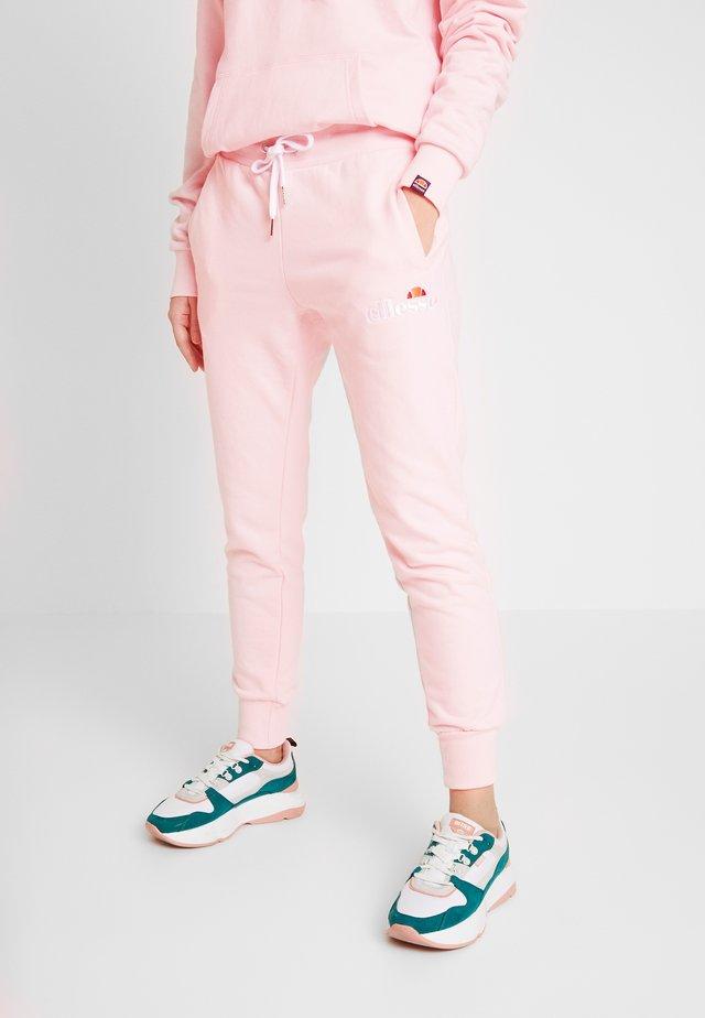 FRIVOLA - Tracksuit bottoms - light pink