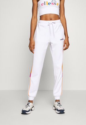 OLYMP - Tracksuit bottoms - white