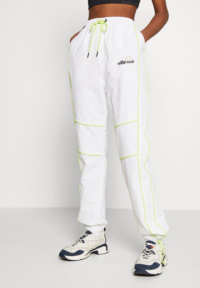 DELLA X  - Verryttelyhousut - white
