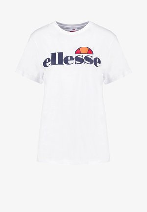 ALBANY - Print T-shirt - optic white