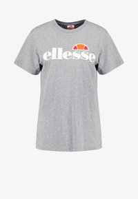 Ellesse - ALBANY - T-shirts med print - ath grey - 4