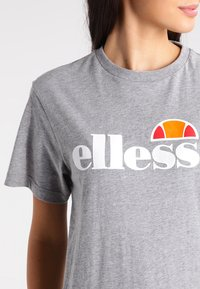 Ellesse - ALBANY - T-shirts med print - ath grey - 3