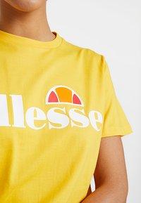 Ellesse - ALBANY - T-shirt print - yellow - 5