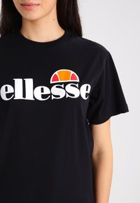 Ellesse - ALBANY - T-shirt con stampa - anthracite - 3