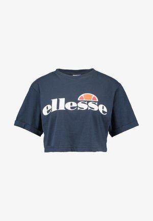 ALBERTA - T-shirts med print - dress blues