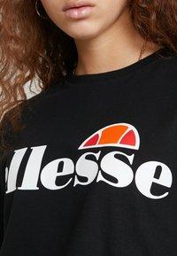 Ellesse - ALBERTA - T-Shirt print - anthracite - 5