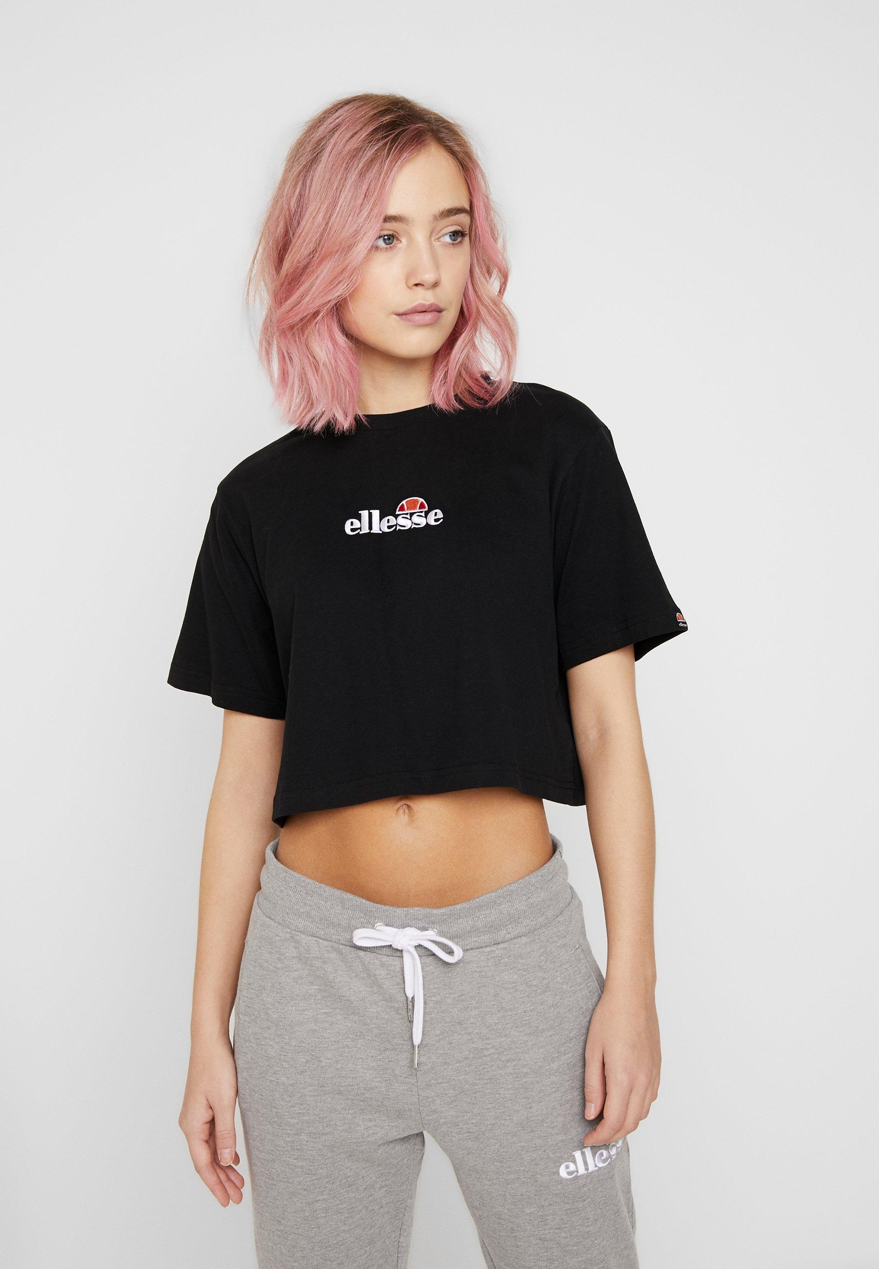 Ellesse Fireball - T-shirts Med Print Black