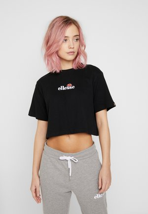 FIREBALL - Print T-shirt - black