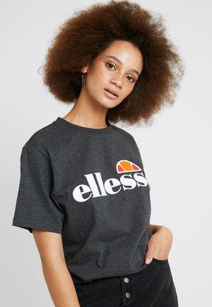 ALBANY - T-shirt print - dark grey marl