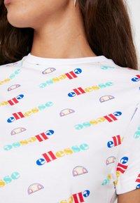 Ellesse - LAN - T-Shirt print - white - 4