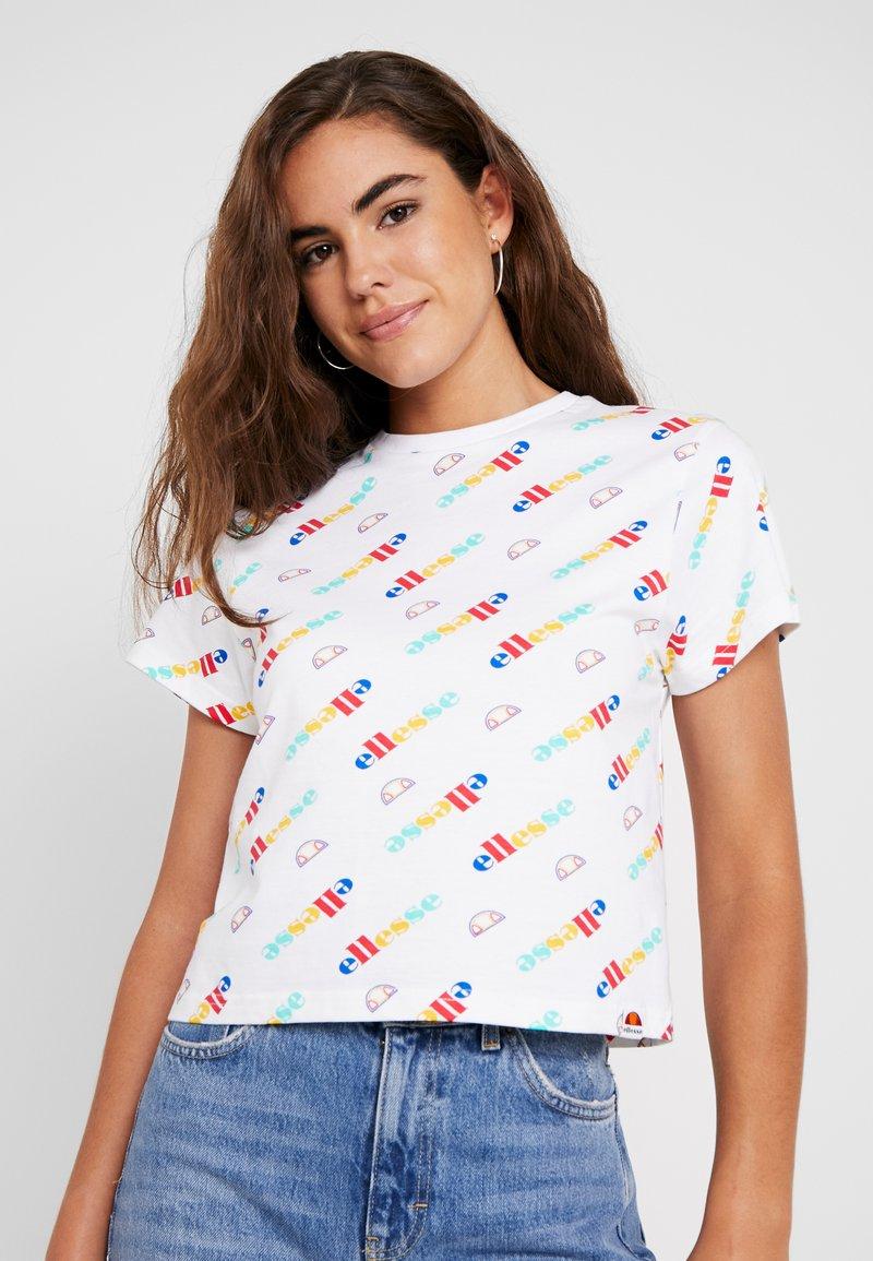 Ellesse - LAN - T-Shirt print - white