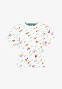 Ellesse - LAN - T-Shirt print - white - 3