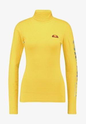 FELPO - Bluzka z długim rękawem - yellow