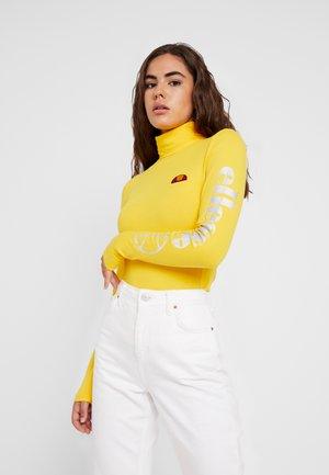 FELPO - Long sleeved top - yellow