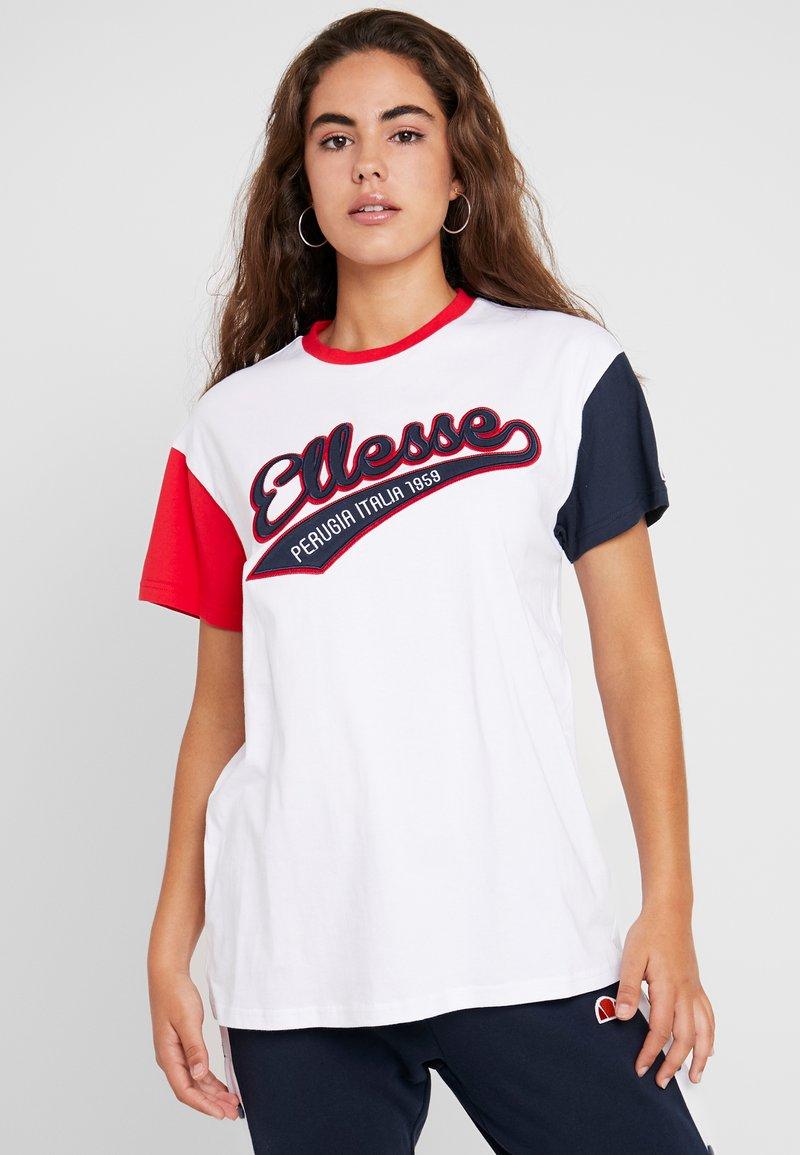 Ellesse - DAKOTA - Print T-shirt - white