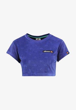 SELVA - Print T-shirt - purple