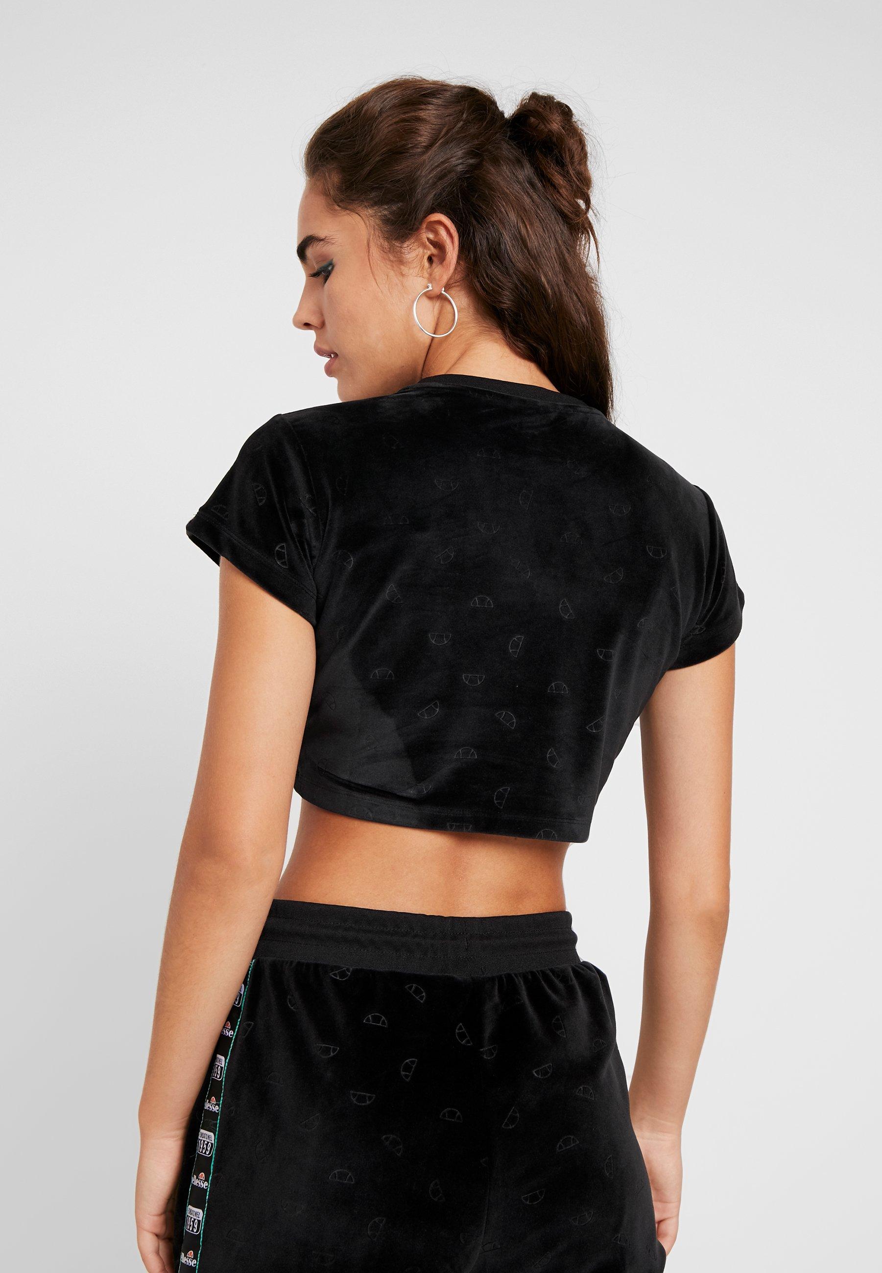 SelvaT Ellesse Imprimé Imprimé Black SelvaT shirt Ellesse shirt kuTwiOXZlP