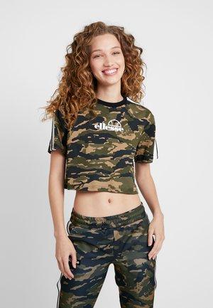 NOELIA - T-shirt print - olive