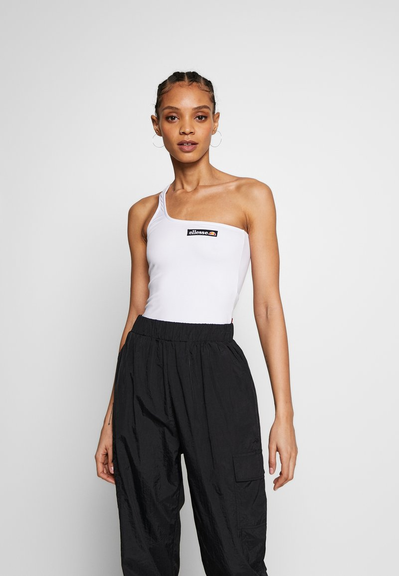 Ellesse - REFLECTIVE TOP - Topper - white
