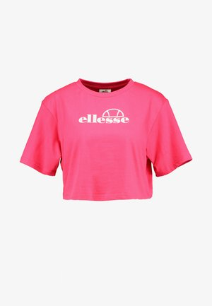 EYRS - T-shirts med print - pink