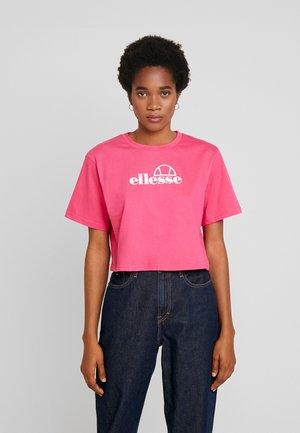 EYRS - Camiseta estampada - pink