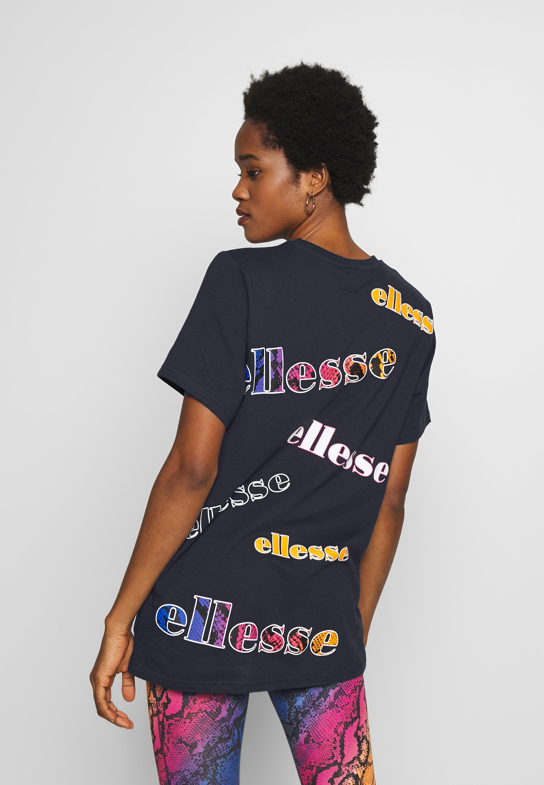 Ellesse MIRI - T-shirts med print - navy