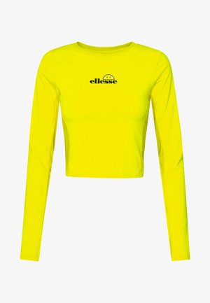 MATERA X SMILEY - Long sleeved top - neon yellow