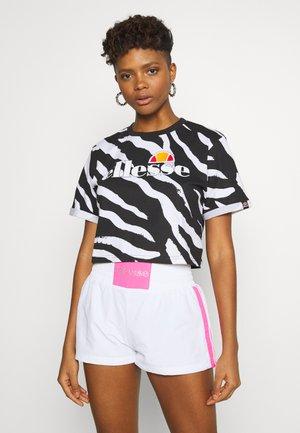 RERTA - Print T-shirt - black