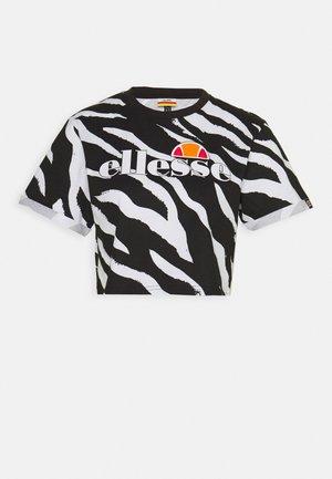 RERTA - T-shirts med print - black