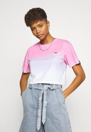 RERTA FADE - T-shirt z nadrukiem - pink