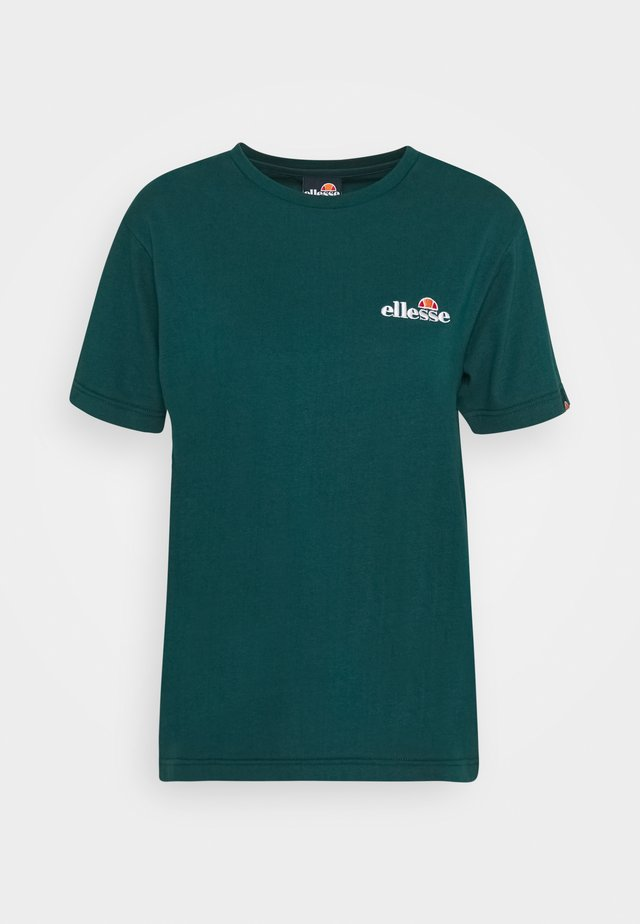 MONTAL - Print T-shirt - teal