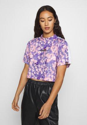 YANETA - T-shirts med print - purple