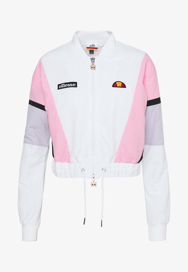 SHIARO - Bomber Jacket - white
