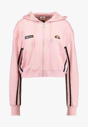 ALDO - Mikina na zip - pink