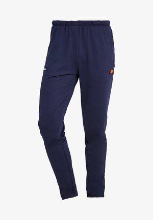 RUN - Teplákové kalhoty - navy