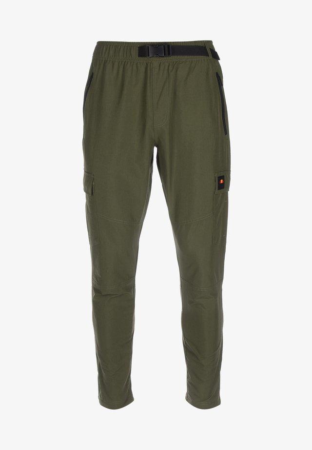 AUGUSTINO - Pantalon cargo - khaki