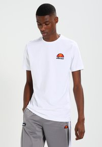 Ellesse - CANALETTO - T-shirt print - optic white - 0