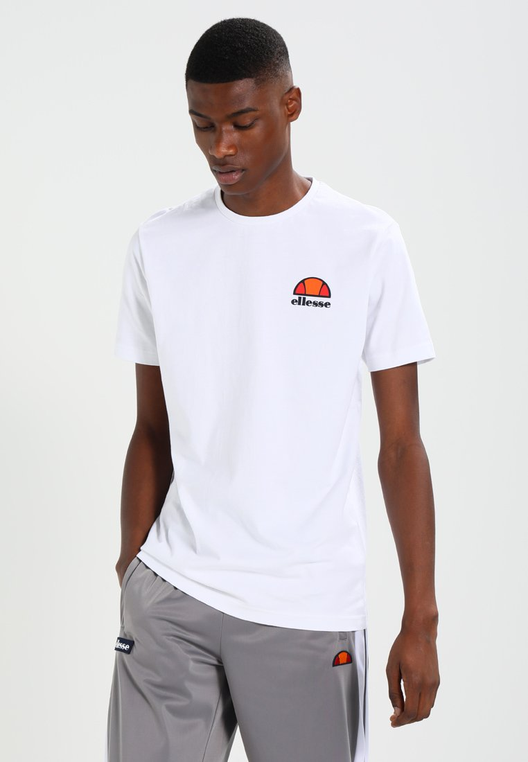 Ellesse - CANALETTO - Print T-shirt - optic white