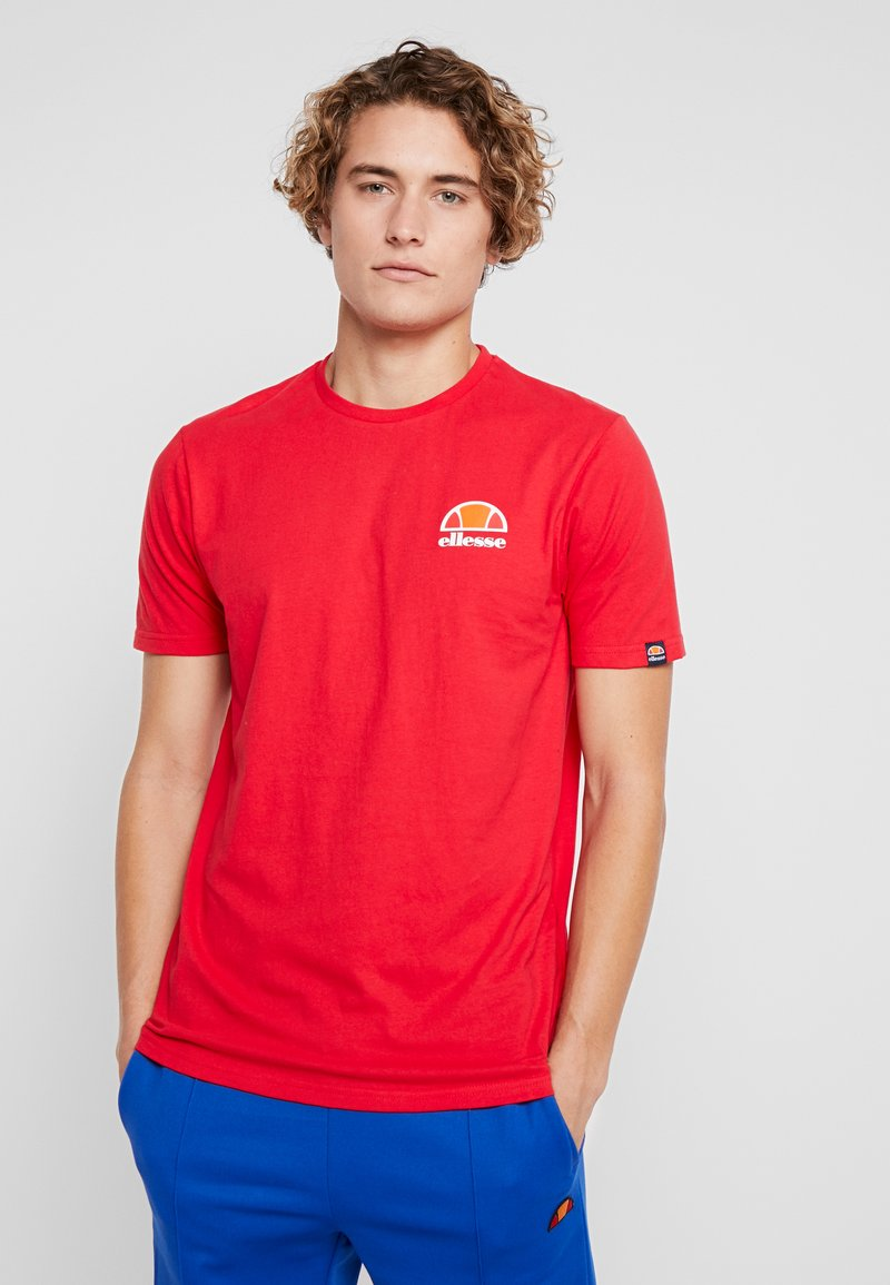 Ellesse - CANALETTO - Print T-shirt - red