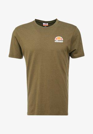 CANALETTO - Print T-shirt - khaki