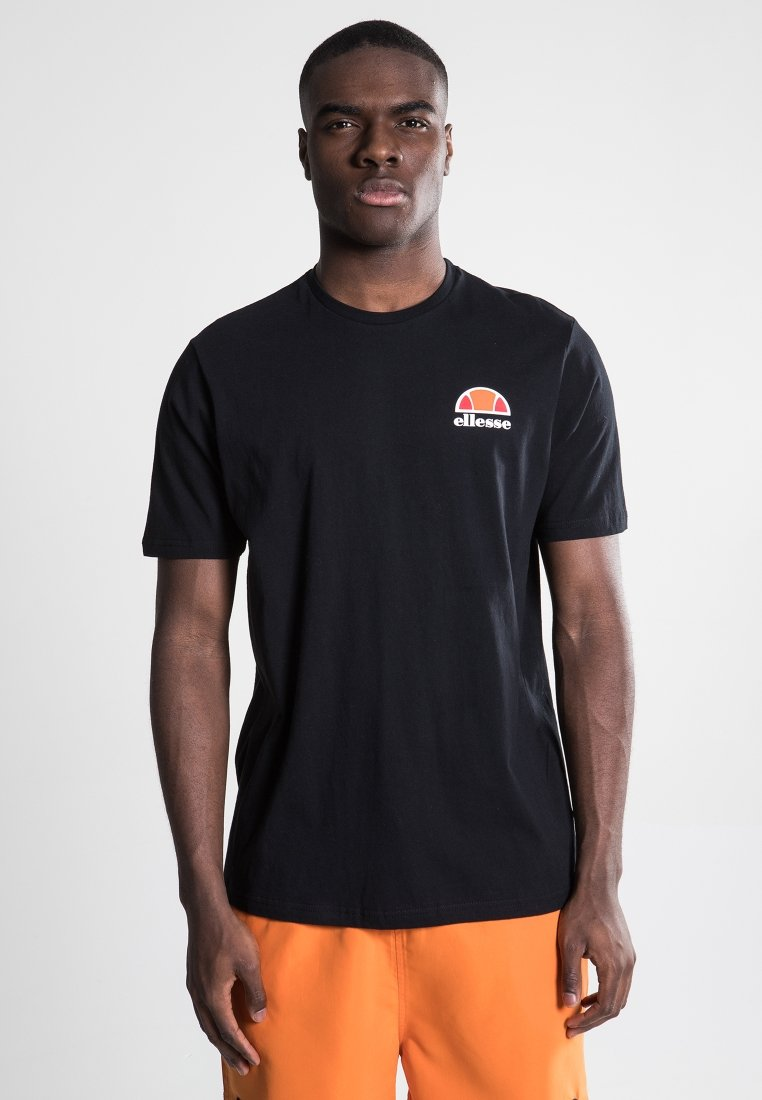 Ellesse - CANALETTO - Print T-shirt - anthracite