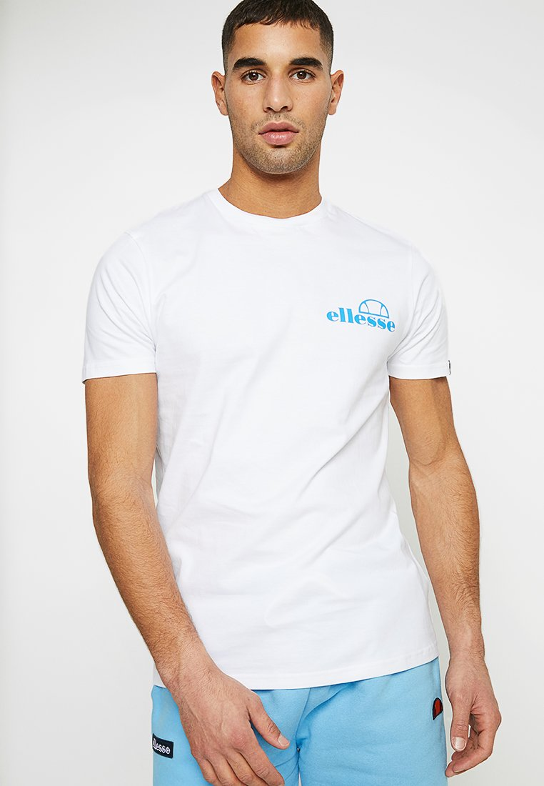 Ellesse - FONDATO - T-shirt con stampa - white